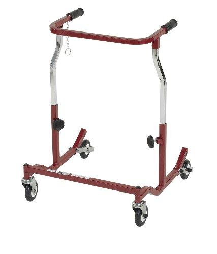 Wenzelite Anterior Safety Rollers, Burgundy, Adult (Anterior Roller Safety Pediatric)
