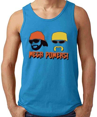 Blue Hogan Macho Man Mega Powers Tank Top Adult -