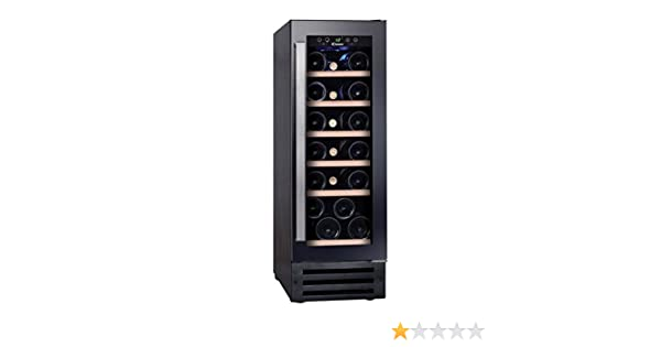 Candy CCVB 30 Integrado Nevera de vino Negro 19botella(s) B ...