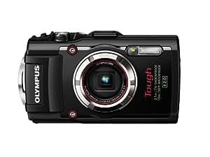 Olympus TG-3 Waterproof 16 MP Digital Camera (Black)  - International Version (No Warranty)