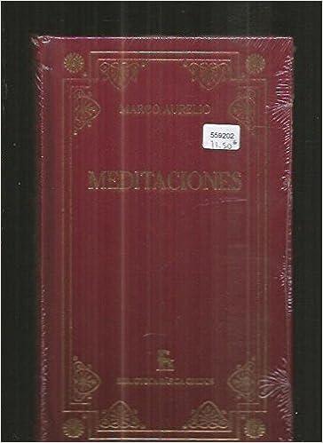 Meditaciones (marco aurelio): Amazon.es: Aurelio Antonino, Marco ...