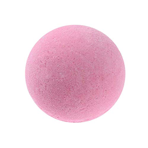 (Bath Bombs Body Essential Oil Bath Ball Natural Bubble Bath Bombs Ball Rose Lavender Lemon Green Tea Bath Bombs Bombe 3 cm,Rose)