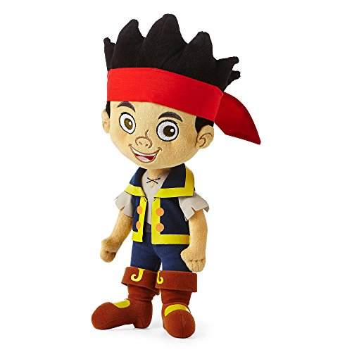 Disney Jake and the Neverland Pirates 15 inch Jake Plush (Jake And The Neverland Pirate Characters)