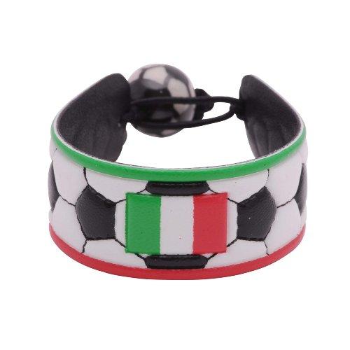 Italy Flag Classic Soccer Bracelet (World Soccer Bracelet)