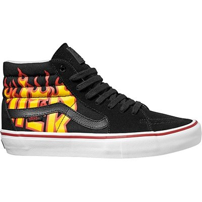 5c4dc973ac18 Vans x Thrasher Sk8-Hi Pro (Thrasher Black) Mens Skate Shoes-11