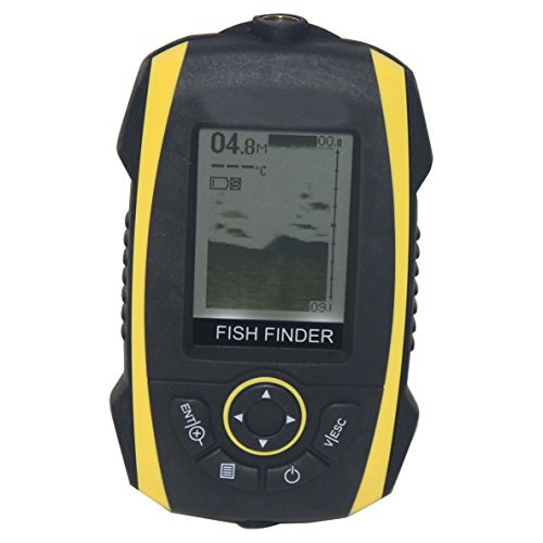 Signstek FF-013 2015 Newest Version Portable Fish Finder Fishfinder Outdoor Fishing Tool - with Backlight - For Detecting Big & Small Fish - Waterproof! Fish Finders And Other Electronics