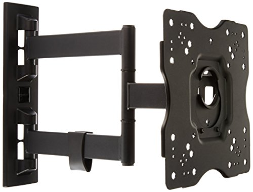AmazonBasics Heavy-Duty, Full Motion Articulating TV Wall Mount for 22-inch to 55-inch LED, LCD, Flat Screen TVs (Wall Mount For Sony Bravia 55 Inch)