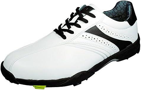 ゴルフ スパイク ホワイト/ブラック LXSH-7568