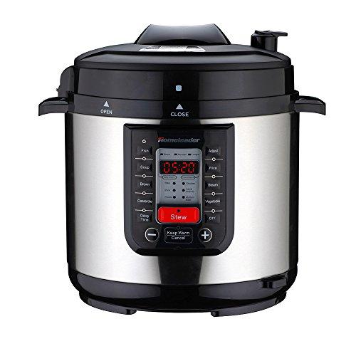 Electric Pressure Cooker Cookbooks ~ Homeleader k electric pressure cooker with