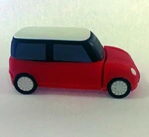Euroge Tech 8GB USB Flash Drive Memory Stick Mini Cooper Red