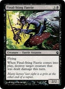 Magic: the Gathering - Final-Sting Faerie - Morningtide