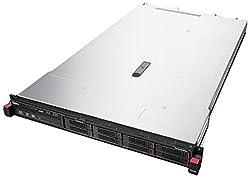 Lenovo 70D60020UX ThinkServer RD350 70D6, 8 GB RAM, No HDD, ASPEED AST2400, Black
