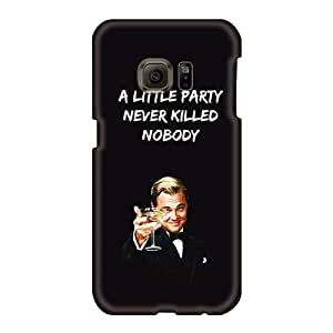 Perfect Hard Phone Case For Samsung Galaxy S6 (msK1843ZZec) Support Personal Customs Trendy Gatsby A Little Party Series