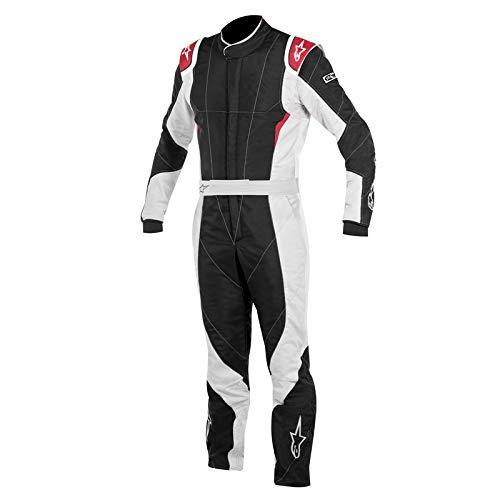 Alpinestars GP PRO Suit (Black/Steel Gray/Red, Size ()