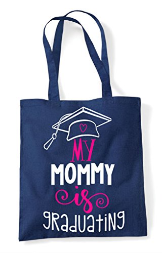 Bag Graduating Navy Shopper Tote Mommy My Is wEqxnI8aT
