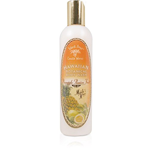 Island Soap & Candle Works Body Wash, Pineapple Passion Fruit