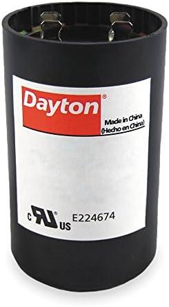 270-324 MFD Round Motor Start Capacitor