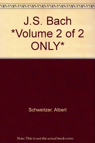js bach volume 2 of 2 only