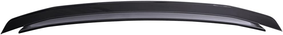 2011 2012 2013 Pre-Painted Trunk Spoiler Compatible With 2010-2014 Ford Mustang Ebony Black ABS Rear Spoiler Wing Tail Lid Finnisher Deck Lip Other Color available by IKON MOTORSPORTS