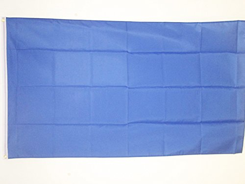 PLAIN BLUE FLAG 3' x 5' - BLUE SOLID COLOR FLAGS 90 x 150 cm