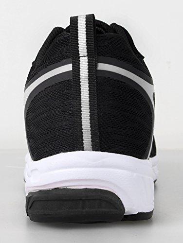 iLoveSIA - zapatilla baja hombre negro y blanco