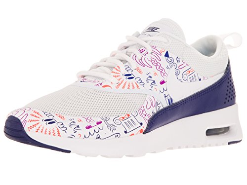 Nike Vrouwen Air Max Thea Loopschoenen Wit-violet