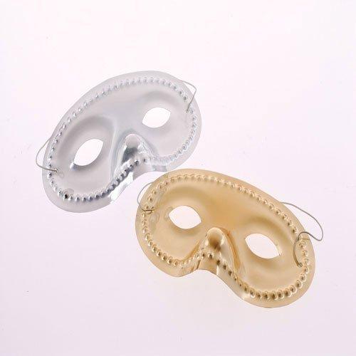 Dozen Metallic Face Masks (Fancy Face Masks)