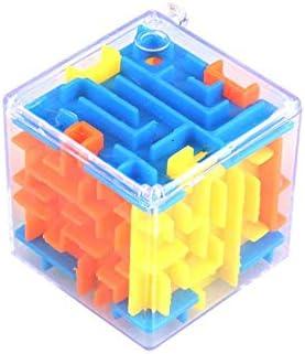 Justdodo 6 Lados tridimensionales Laberinto mágico Laberinto Universal de Inteligencia del bebé 3D de Juguete Juguetes educativos Regalos Kid portátiles: Amazon.es: Hogar