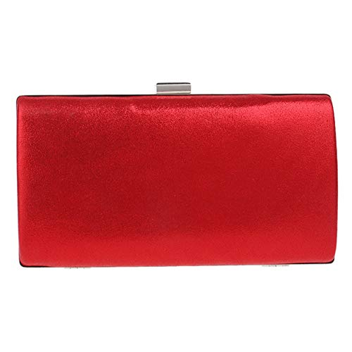 Red Event Purse Handbags Strap For Makeup Evening Wedding Womens Bags Clutches nCvCqag