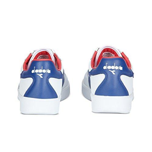 C7058 blanco con Rojo Sandalias Unisex Plataforma Amor Adulto Diadora blue Elite B 4x0TvT