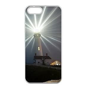 Welcome!Iphone 5/5S Cases-Brand New Design Lighthouse Scenery Printed High Quality TPU For Iphone 5/5S 4 Inch -03