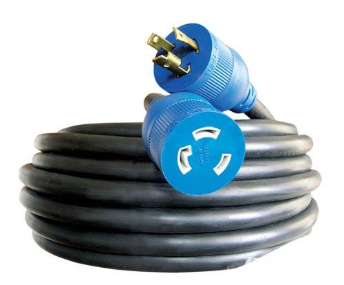 Voltec 06-00181 10/3 SEOOW All-Flex Utility Locking Extension Cord, 100-Foot, Black by Voltec