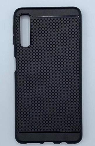 designer fashion 62283 4a079 Samsung Galaxy A7 2018 Triple Camera Dotted Back Cover: Amazon.in ...