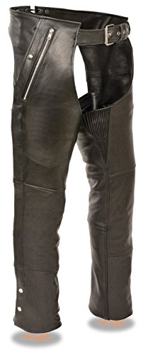 Mens Leather Riding Pants - 2