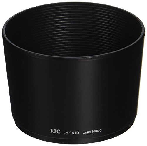 JJC LH-J61D Black Bayonet Lens Hood for Olympus 40-150mm f/4-5.6 Zuiko ED Zoom Lens Replaces OLYMPUS Lens Hood LH-61D