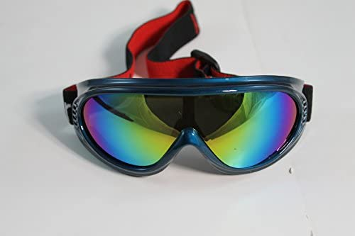 HighFlier Kids Motorcycle ATV Dirt Bike Racing SKI Goggles Color Lens Glasses 887BL