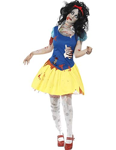 Smiffys Women's Zombie Snow Fright Costume, Dress with