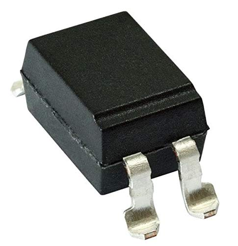 Transistor Output Optocouplers Optocplr 80-160% CTR 5mA SMD-4 Pack of 100 (VO615A-7X007T) by VISHAY SEMICONDUCTORS (Image #1)