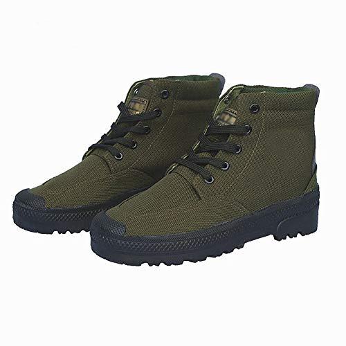 uomo usura per da 43 scarpe di alta Rcnrycasual scarpe allenamento tela Labor a e all' antiscivolo assicurazione resistente gomma camouflage Ig8Twqpxg