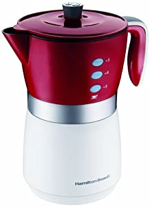 Hamilton Beach 43700 5-Cup Personal Coffee Brewer, Okay but could be better