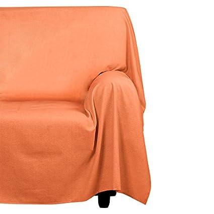 Cotton & Color Arredo Foular Copritutto, Cotone, Grigio, 180x270x0.5 cm Morbiflex FOULAR18031752