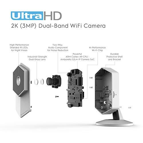 Amcrest 2k Wireless Ip Camera 3mp 2304tvl 5ghz Indoor
