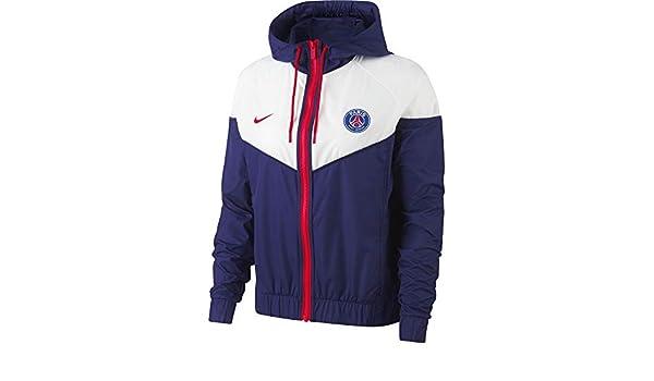Nike PSG W NSW WR JKT AUT 2 - Chaqueta, Mujer, (Loyal Blue ...