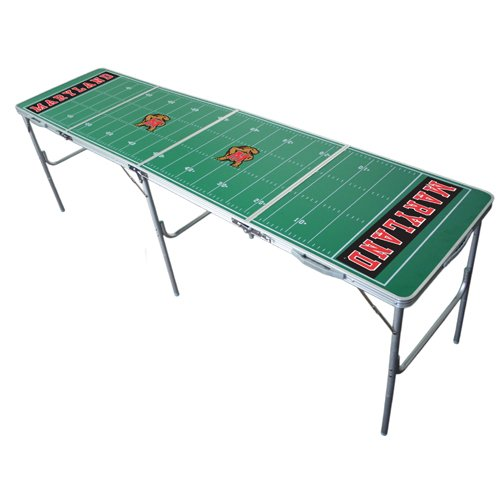 Maryland Terrapins 2x8 Tailgate Table by Wild (Ncaa Maryland Terrapins Sports Table)