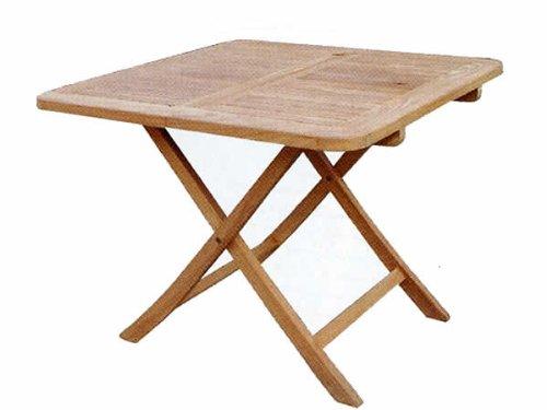 ガーデンファニチャー:折り畳みスクエアテーブルB【商品番号:20713】 B005HCC73O