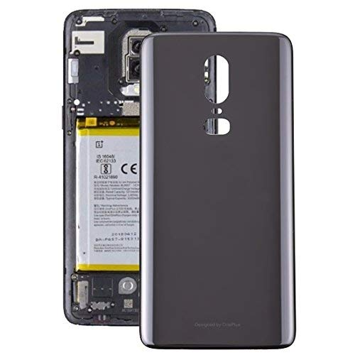competitive price 62a20 1415d iPartsBuy for OnePlus 6 Back Cover Replacement (Black)