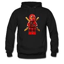 Soothing Men's and Women's Unisex Custom ninjago lego Classic Hoodie