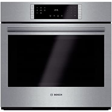 Bosch HBL8451UC 800 30 Stainless Steel Electric Single Wall Oven Convection
