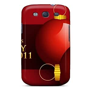 Premium Tpu 2011 Happy New Year Christmas Cover Skin For Galaxy S3