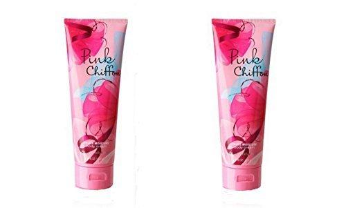 (Bath and Body Works Pink Chiffon Triple Moisture Body Cream (Pack of 2))